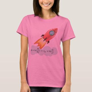 ロケット科学の同等化 Tシャツ