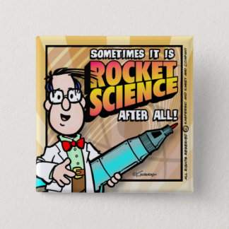 ロケット科学 缶バッジ