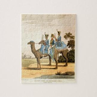 ロケット隊およびヒトコブラクダ隊、ベンガルの軍隊1817年 ジグソーパズル