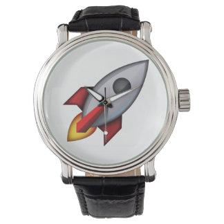 ロケット- Emoji 腕時計