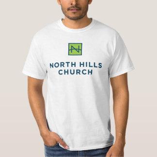 ロゴだけの人のワイシャツ Tシャツ