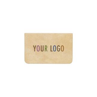 ロゴのカスタムな名刺入れの財布 名刺入れ