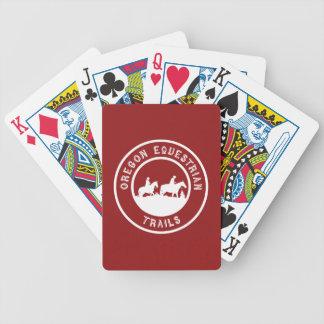 ロゴのカードを遊ぶこと バイスクルトランプ