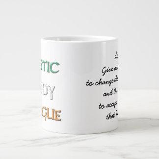 ロゴのコーヒー及びウィスキーの平静 ジャンボコーヒーマグカップ