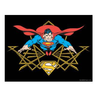 ロゴのスーパーマン ポストカード