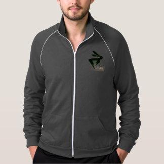 ロゴのフリースのジャケット ジャケット