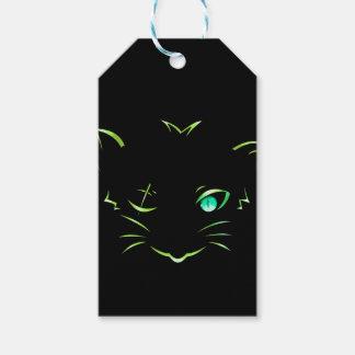 ロゴの強盗猫 ギフトタグ