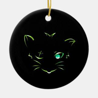 ロゴの強盗猫 セラミックオーナメント