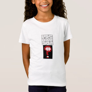 ロゴの迷路Sudoku Tシャツ