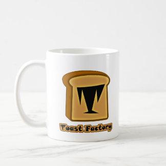 ロゴのToastieの白のマグ コーヒーマグカップ