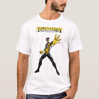 ロゴのVoluntaryistの喜劇的なティー Tシャツ