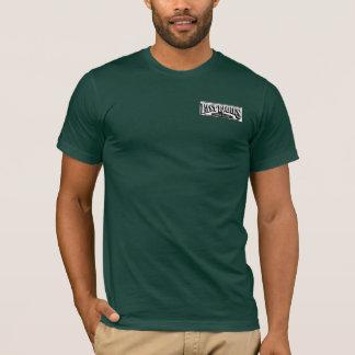 ロゴは渦を巻きます Tシャツ