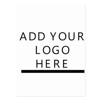 ロゴをカスタム設計して下さい ポストカード