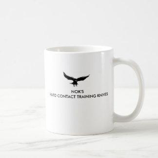 ロゴ、NOKの堅い接触の訓練のナイフ コーヒーマグカップ