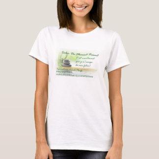 ロゴSalon Du Moment PresenttのTシャツのavecまたは Tシャツ