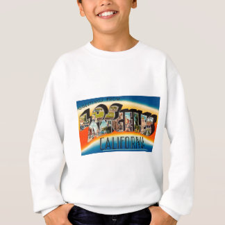 ロサンゼルスからの挨拶 スウェットシャツ