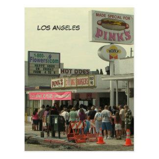ロサンゼルスによってすごい郵便はがき! ポストカード