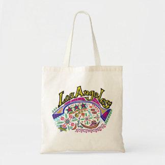 ロサンゼルスのよくはしゃぐなバッグ トートバッグ