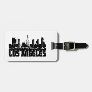 ロサンゼルスのスカイライン ラゲッジタグ