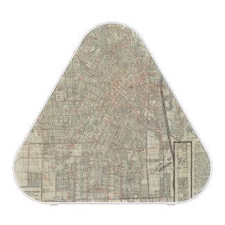 ロサンゼルスの保証地図および通り鉄道 ワイヤレススピーカー
