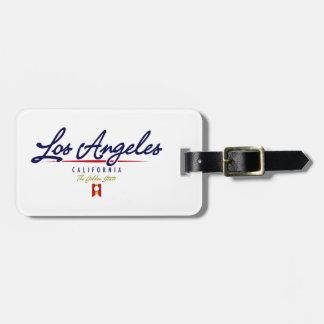 ロサンゼルスの原稿 ラゲッジタグ