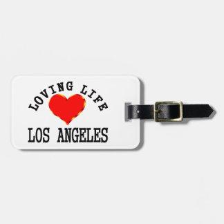 ロサンゼルスの愛情のある生命 ラゲッジタグ