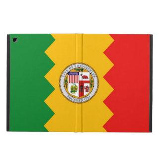 ロサンゼルスの旗との愛国心が強いipadの場合 iPad airケース
