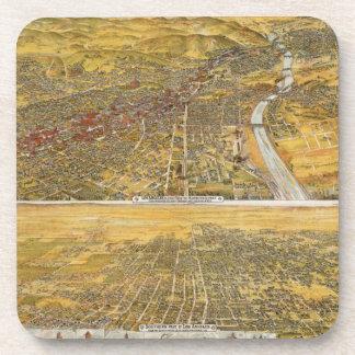 ロサンゼルスの眺め、1894年 コースター