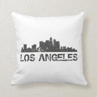 ロサンゼルスの都市景観のスカイライン クッション