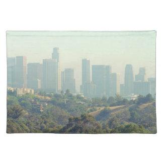 ロサンゼルスの都市景観 ランチョンマット