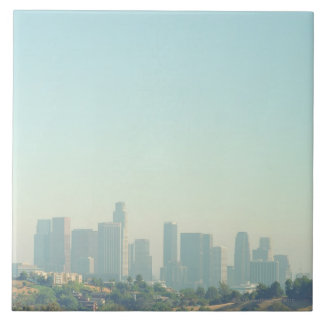 ロサンゼルスの都市景観 正方形タイル大