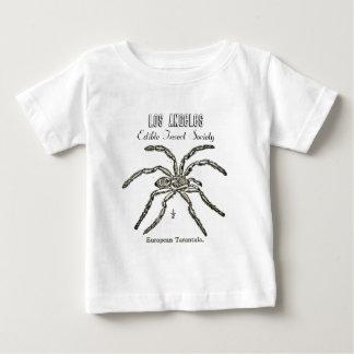 ロサンゼルスの食用の昆虫の社会-タランチュラ ベビーTシャツ
