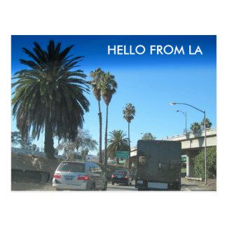 ロサンゼルスの高速道路の生命 ポストカード