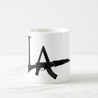 ロサンゼルスカラシニコフ自動小銃 コーヒーマグカップ