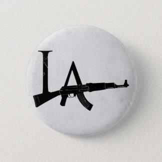 ロサンゼルスカラシニコフ自動小銃 5.7CM 丸型バッジ