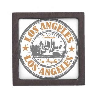 ロサンゼルスカリフォルニアのプライドのシール ギフトボックス