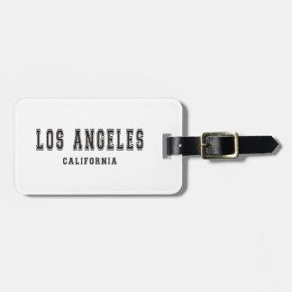 ロサンゼルスカリフォルニア ラゲッジタグ