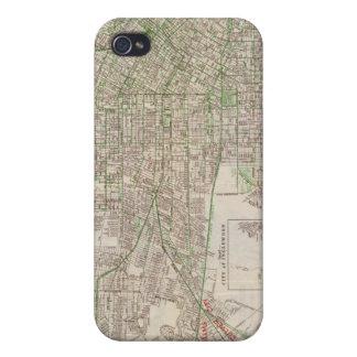 ロサンゼルス、カリフォルニア2 iPhone 4 ケース