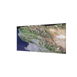 ロサンゼルス、カリフォルニア キャンバスプリント