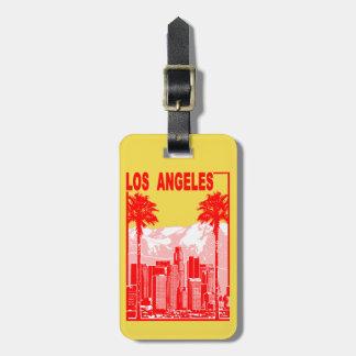 ロサンゼルス ラゲッジタグ