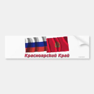 ロシアおよびクラスノヤルスクKrai バンパーステッカー