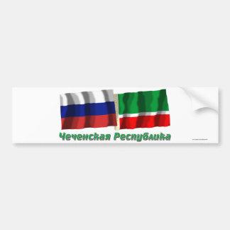 ロシアおよびチェチェン共和国 バンパーステッカー