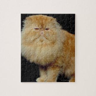 ロシアので長い毛猫 ジグソーパズル
