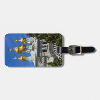 ロシアのなか正教会、ジュネーブ、スイス連邦共和国 ラゲッジタグ