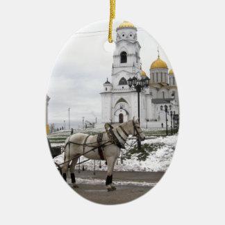 ロシアのなカテドラル セラミックオーナメント