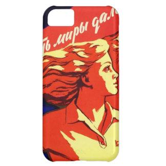 ロシアのなヴィンテージの共産主義の宇宙のプロパガンダ iPhone5Cケース