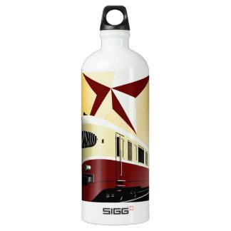 ロシアのなヴィンテージの共産主義の鉄道ポスター ウォーターボトル