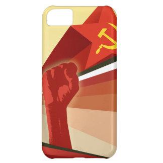 ロシアのなヴィンテージの共産主義者のプロパガンダ iPhone5Cケース