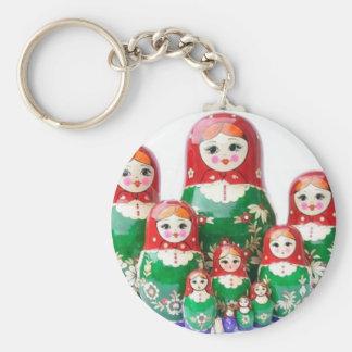 ロシアのな人形Matryoshka - матрёшка キーホルダー