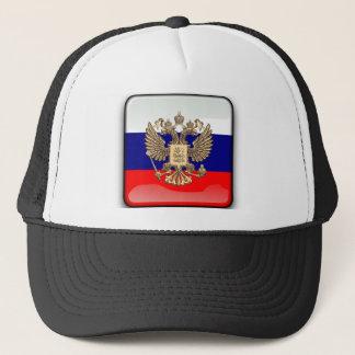 ロシアのな光沢のある旗 キャップ